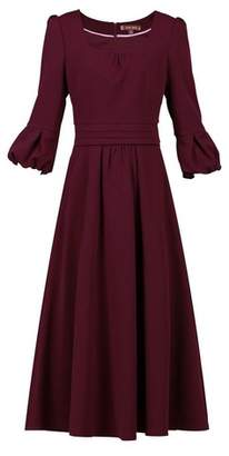 Dorothy Perkins Womens *Jolie Moi Burgundy Bell Sleeve Dress