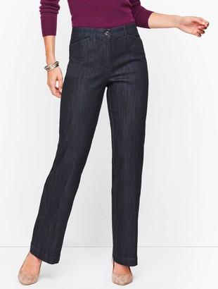 Talbots Wide Leg Jeans - Rivington Wash