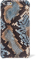 The Case Factory - Snake-effect Leather Iphone 6/ 6s Plus Case - Snake print