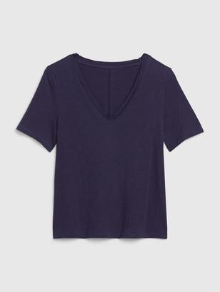 Gap Slub V-Neck T-Shirt
