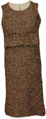 Marni Brown Wool Dresses