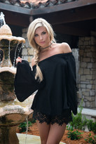 Union of Angels Nikki Top With Split Bell Sleeves -