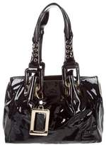 Roger Vivier Small Patent Leather Tote