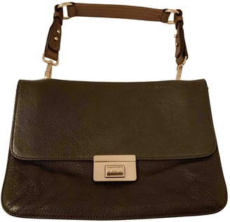 Marni Khaki Leather Handbags