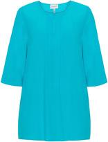 Chalou Plus Size Pleat front blouse