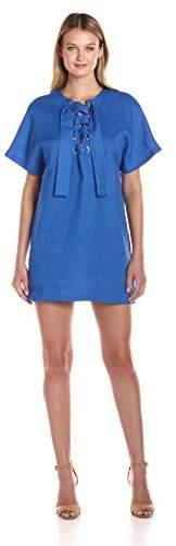 Mara Hoffman Women's Lace up Mini Dress