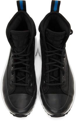 Converse Black Digital Terrain Run Star Hike Hi Sneakers