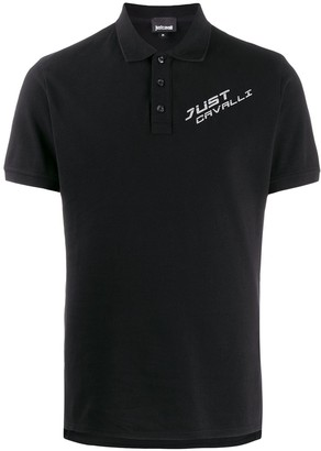 Just Cavalli chest logo polo shirt