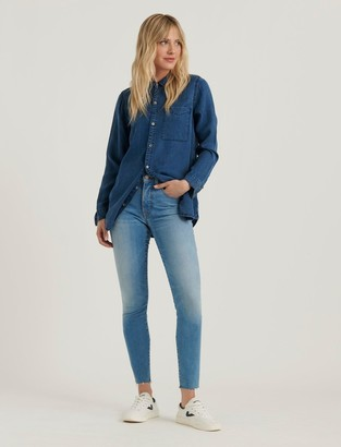 Lucky Brand High Rise Bridgette Skinny Jean