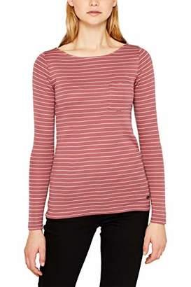 Esprit edc by Women's 119CC1K018 Longsleeve T-Shirt,Large
