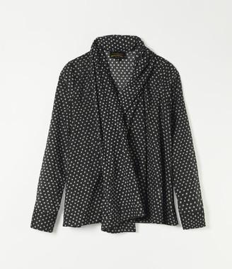 Vivienne Westwood Gainsborough Blouse Black/White