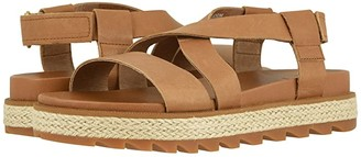Sorel Roamingtm Crisscross Sandal Jute (Camel Brown) Women's Sandals
