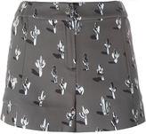 Kenzo 'Cartoon Cactus' shorts - women - Polyester - 34