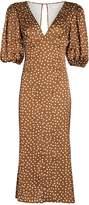 Ronny Kobo Callie Polka Dot Chiffon Dress