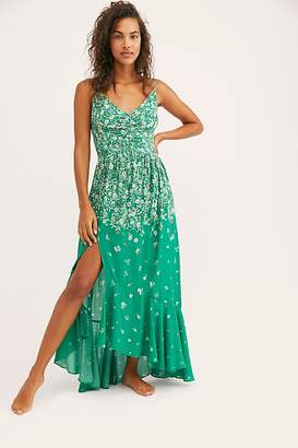Free People Ready Or Not Printed Maxi Slip by Intimately at