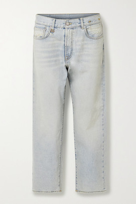 R 13 Mid-rise Boyfriend Jeans - Light denim
