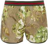 Gucci Blooms-print swims shorts