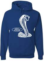 Tee Hunt Ford Shelby Hoodie Ford Performance Muscle Car Racing Sweatshirt XL