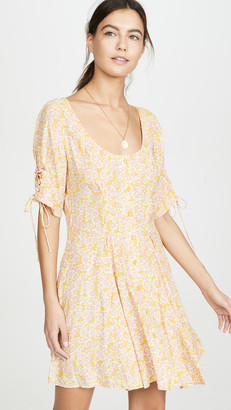 Free People Laced Up Mini Dress