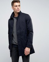 Brave Soul Classic Trench Jacket