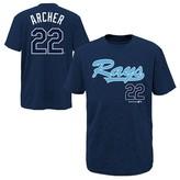 MLB Tampa Bay Rays Boys' Chris Archer T-Shirt Jersey