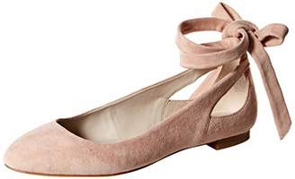 Kenneth Cole New York Women's Wilhelmina 7 Ballet Flat with Ankle Wrap