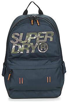 Superdry CAMO INFIL LINEMAN MONTANA women's Backpack in Blue