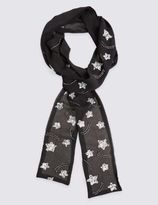 Marks and Spencer Star Embellished Scarf