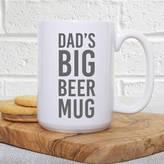 Slice of Pie Designs Dad's Big Father's Day Beer Mug