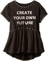 True Religion Studded Future Tee Shirt (Toddler/Little Kids)