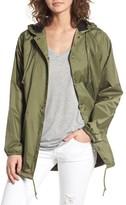Obey Women's Hooded Coach's Jacket
