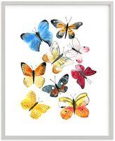 Pottery Barn Kids Watercolor butterflies Wall Art by Minted(R) 11x14