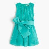 J.Crew Girls' organdy dress with sash