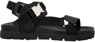 Prada Buckle Tape Sandals