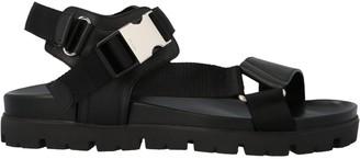 Prada Buckle Tape Sandals