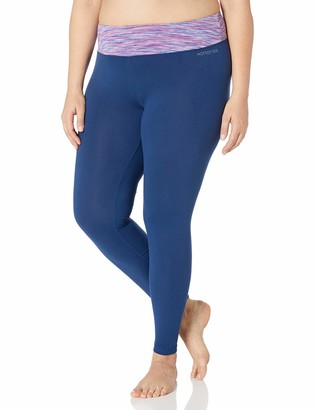Hottotties Women's Plus Size Brushed Jersey Legging