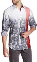 Robert Graham Coal Mines Classic Fit Woven Shirt