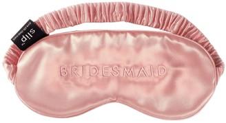 Slip 'bridesmaid' Silk Eye Mask