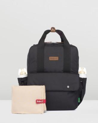 Babymel Women's Black Nappy bags - Georgi Eco Convertible Backpack - Size One Size, Unisex at The Iconic