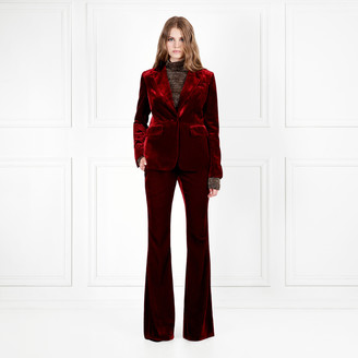 Rachel Zoe Hall Velvet Flared Pants