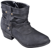 Black Slouchy Ankle Boot