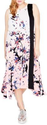 Rachel Roy Plus Printed Midi Dress
