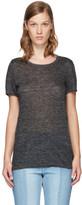 Etoile Isabel Marant Grey Linen Kilian T-Shirt