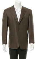 Ermenegildo Zegna Cashmere Three-Button Blazer