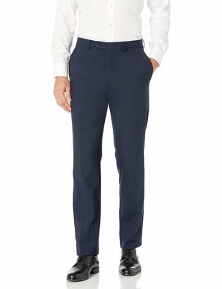 Hart Schaffner Marx Men's Ny Fit Flat Front Dress Pants