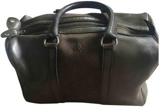 Christian Dior Khaki Suede Handbags