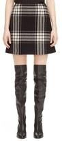 McQ by Alexander McQueen Women's Plaid Miniskirt