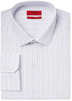 Alfani Men's Fitted Performance Tattersall Dress Shirt, Only at Macy's