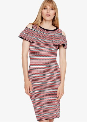 Phase Eight Konnie Stripe Knitted Dress