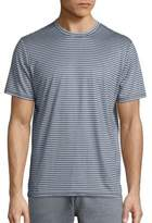 Saks Fifth Avenue COLLECTION Striped Crewneck Tee